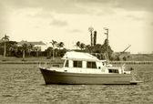 Barca da pesca — Foto Stock