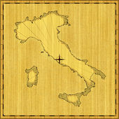 Map of Italy — Stock Photo