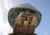 Giant cargo airplane — Stock Photo