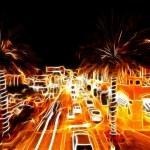 West Palm Beach at night — Stock Photo