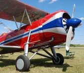Eski pervaneli uçak — Stok fotoğraf