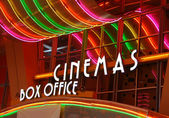 Cinema box office — Stock Photo