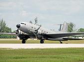 Avião dc-3 — Foto Stock