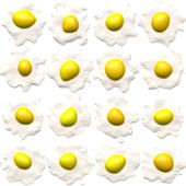 Sunny side up eggs — Stock Photo
