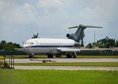Old jet airplane — Stock Photo