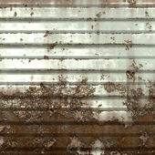 Worn metal door — Stock Photo
