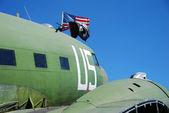 Military plane — Stock Photo