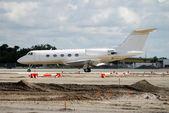 私人飞机 — 图库照片