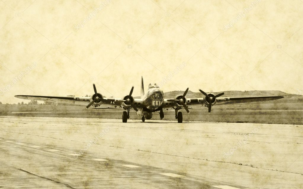 World War 2 era bomber — Stock Photo #11902881