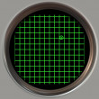 Stock Photo: Sonar screen