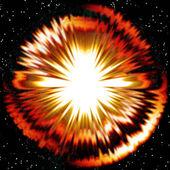 Stellar explosion — Stock Photo