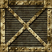 Metal grate — Stock Photo