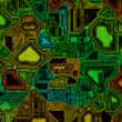 Green circuit board — Stock Photo