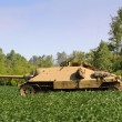 Old tank - Stock Photo