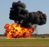 Large explosion — Stock Photo