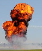 室外爆炸 — 图库照片