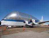 Strange looking transport airplane — ストック写真