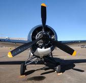Antigo avião de hélice — Foto Stock