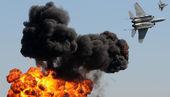 Aerial bombardment — Stock Photo