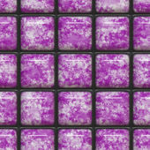 Azulejos de color púrpuras — Foto de Stock