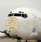 破的飞机 — 图库照片