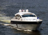 Luxury motorboat — Stock Photo
