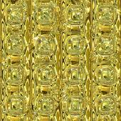 Golden metallic surface — Stock Photo