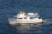 Nurkowanie łódź — Zdjęcie stockowe