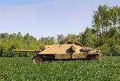 Starý tank — Stock fotografie