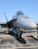 Modern fighter jet — Stock Photo