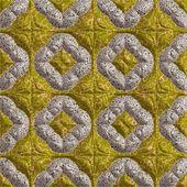 Yellow comforter — Stock Photo
