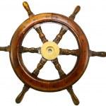 Boat wheel — Stock Photo