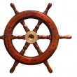 Boat wheel — Stock Photo