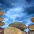 Stock Photo: Rocks and sky