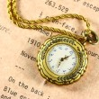 Old fob watch — Stock Photo