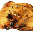 Wooden wall clock — Photo #11757267