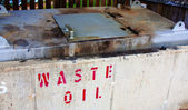 Waste oil — Stock Photo