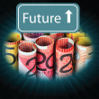 Dollars future — Stock Photo #11936191