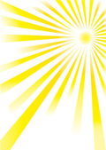 Sun burst — Stock Vector