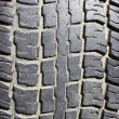 The old tyre tread — Stock Photo