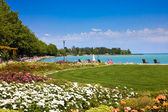 Balaton beach — Stock Photo