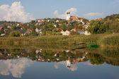 Reflecion of Tihany — Stock Photo