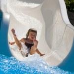 Funny splash — Stock Photo