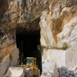 ������, ������: Marble quarry entrance in Carrara