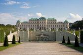Belvedere e il giardino — Foto Stock