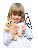 Doctor kid — Stock Photo