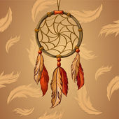 Vector Dream Catcher — Vector de stock