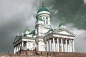 St Nicholas Cathedral in Helsinki, Finland — Stock Photo