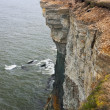 Stock Photo: High cliff in Estonia