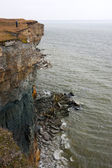 High cliff in Estonia — Stock Photo